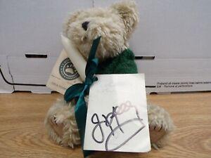 Jim Kelly Autographed Signed Boyds Bears Teddy Bear 010520DBT