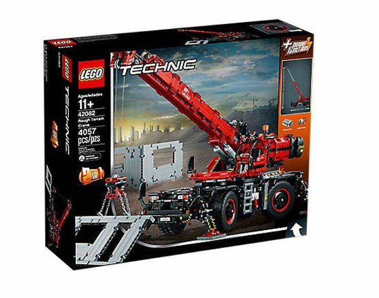 Lego Technic 42082 – Geländegängiger Kranwagen  NEU & OVP