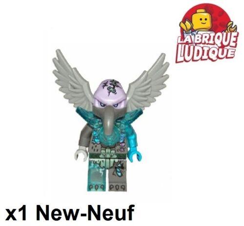 Figurine Minifig Chima Vornon vautour aigle 70135 70225 LOC096 NEUF Lego