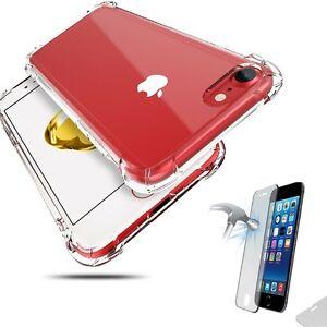 Hibrido-360-Funda-a-Prueba-De-Golpes-Cubierta-De-Vidrio-Templado-para-Apple-iPhone-6-6s-7-8-Plus