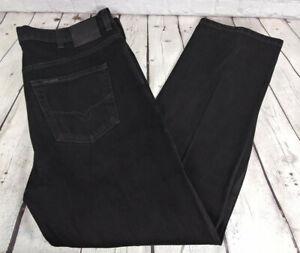 Harley Davidson Moto Talla 42 X 30 Negro Para Hombres Pantalon Vaquero Jeans Relajados Ebay