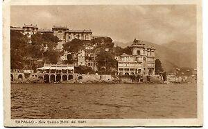 1925-Rapallo-New-Casino-Hotel-Dal-Mare-Guller-Genova-dest-Navacchio-FP-B-N-VG
