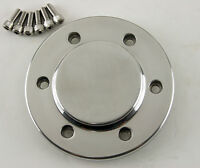Polished Motor Pulley Cap For All 3.35 Ultima Street Style Open Belt Drives