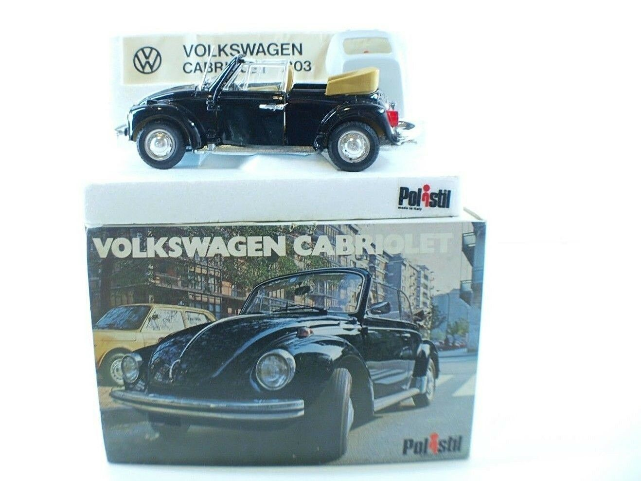 Polistil S15 Volkswagen cabriolet 1303 1 25 neuf en boite Boxed Mint in Box