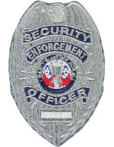 Novelty (U-N205S) Security Enforcement Officer Shield ...
