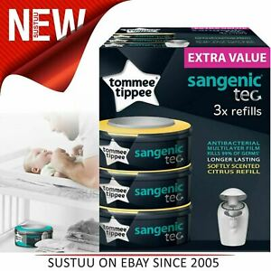 Tommee Tippee Nappy Wrapper Cassette x 6 6 x 1 per pack