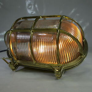 Billiger Preis Xxxl Schiffslampe 2,8kg Schildkröte Maschinenraum Lampe Messing Kajüten Lampe Moderne Techniken