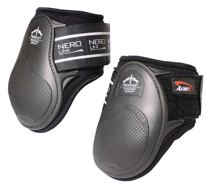 Veredus Young Jump Fetlock Protection Rear stivali, FEI & BS Compliant Back stivali