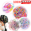 100x-Hair-Ties-Hairband-Ponytail-Holder-Elastic-Rope-Girl-Kid-Head-Band-Bean thumbnail 2