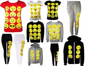 Garcons-filles-tout-emoji-smiley-emoticones-t-shirt-legging-hoodie-sweats-pantalon