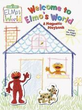 Elmo's World: Welcome to Elmo's World : A Magnetic Playbook by RH Disney...
