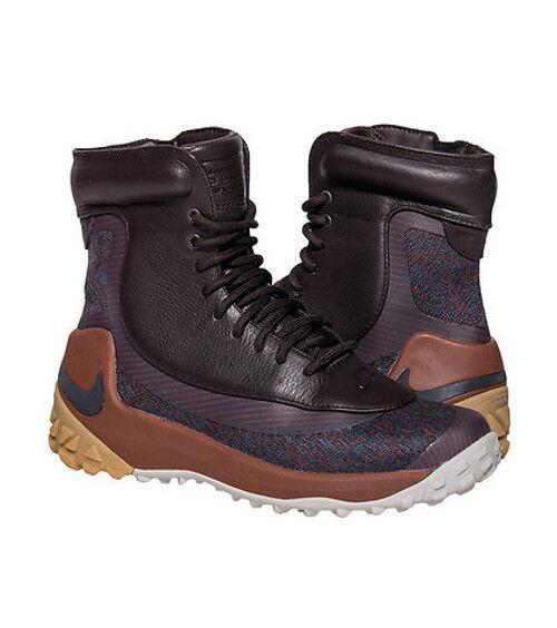 NIKE DONNE'S ZOOM KYNSI JCRD WP stivali scarpe  Dimensione 7 Marroneei antracite 80678 202  lo stile classico