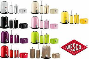 wesco 4-tlg. bad-set, badezimmer mülleimer toilettenbürste, Badezimmer
