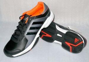 Das Bild wird geladen Adidas-B23042-Barricade-Court-Sport-Sneaker-Herren- Schuhe- 182eb7ec4f