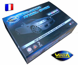Kit-VEGA-Angel-Eyes-Feux-Neon-CCFL-Xenon-BMW-E36-E39-E46-E81-E87-E90-E91-M3