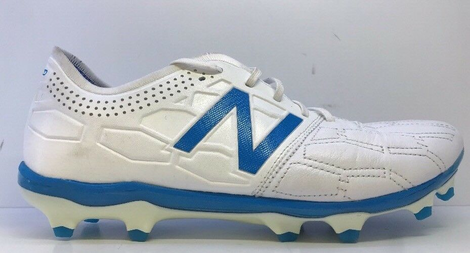 New Balance Men's Stiefel Visaro 2.0K Leder FG Weiß/Bolt Rugby Stiefel Men's Uk 8 0c8f16