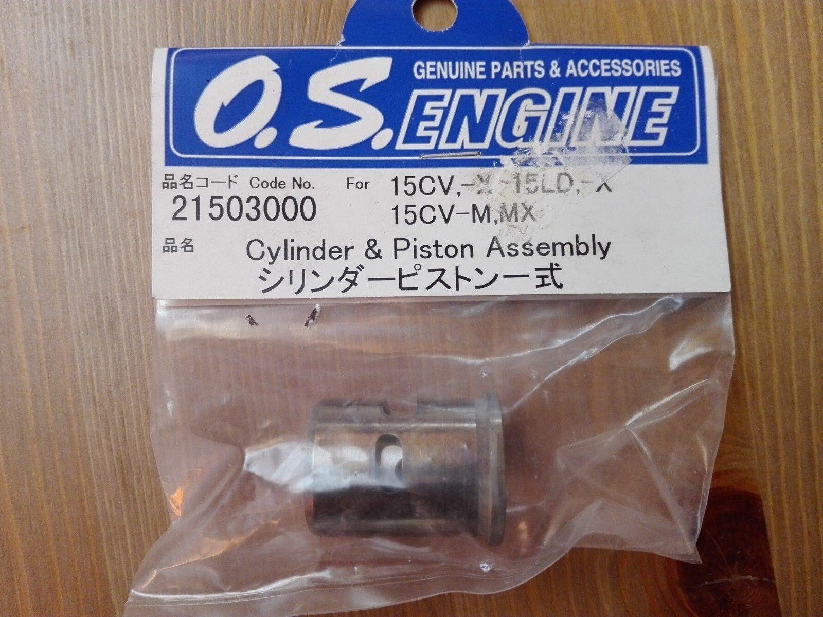 O.S. Engine 21503000 Cylinder & Piston