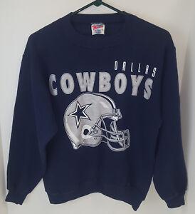 Vintage 90 s Hanes Activewear Dallas Cowboys Sweatshirt- Size Med ... e7ecc8603