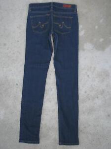 de3442cb66e99 AG ADRIANO GOLDSCHMIED Jeans Jeggings Sz 26 Super Skinny Leggings   eBay