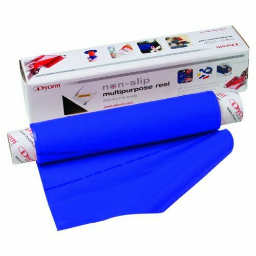 Dycem non-slip material, roll, 16 x6-1 2 foot, blueee