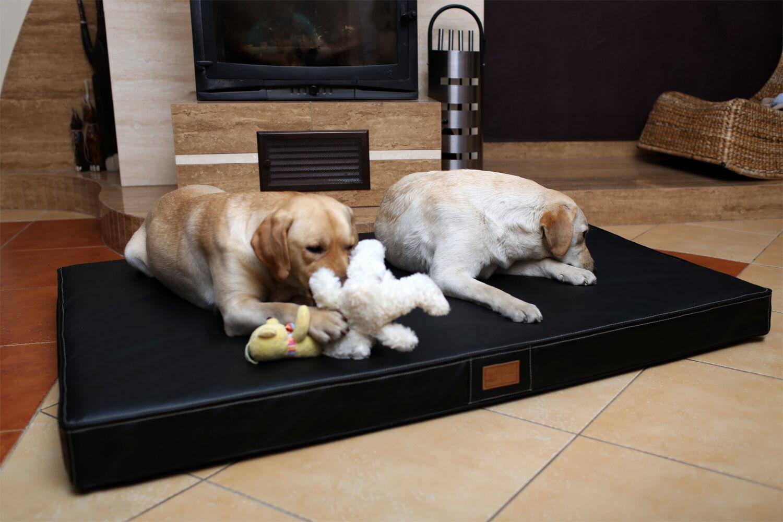 Tierlando® Tierlando® Tierlando® OSCAR VISCO Orthopädische Hundematte Matratze Kunstleder Hundebett d0082d