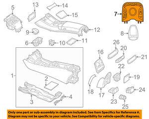 673cab464ce Details about Mercedes MERCEDES-BENZ OEM S550 Front Center Console-Multi  Switch 22290083038R98