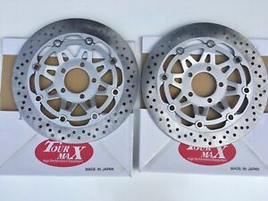 Details about FRONT BRAKE DISCS PAIR FOR ZZR600 D J E NEW MADE IN JAPAN  TOURMAX *OFFER*