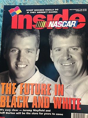 "Sports Mem, Cards & Fan Shop Ingenious Nos July/august 1998 Inside Nascar ""the Future In Black And White"" Bill Elliott"
