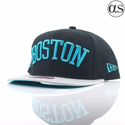 New Era 9FIFTY «Ère Script de diamant» Boston Red Sox Teal//Black//Grey Snapback Cap