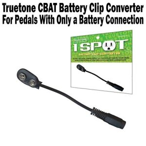 Truetone-CBAT-1-Spot-Battery-Clip-Cable-9V-Power-Adaptor-One-Spot-Visual-Sound