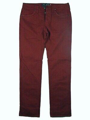 Disinteressato Pantaloni Jeans Uomo Jaggy Mcqueen Rosso Tg W30 31 It 44 46 Cotone Gabardine Una Grande Varietà Di Merci