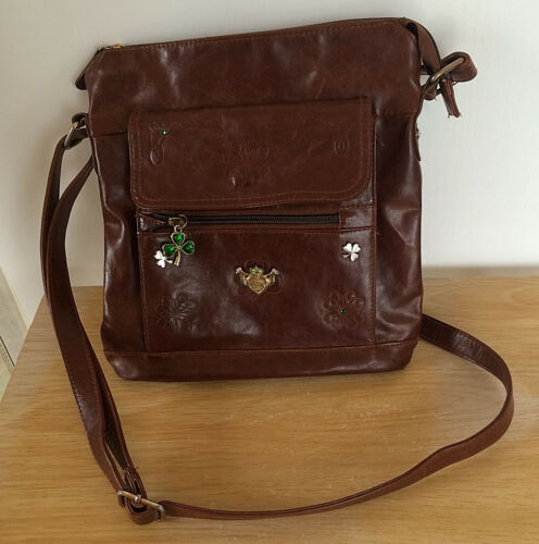 Irish 2011 Exchange Couture Bag verstelbare bruin Bradford Celture riem Crossbody dhCtxosQrB