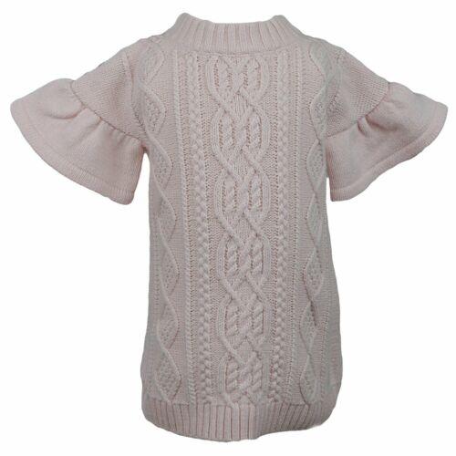 Janie And Jack Ruffle Sleeve Sweater Dress