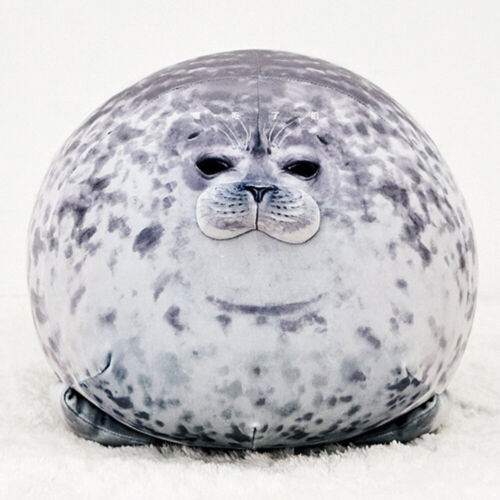 Plush Animal Toy Chubby Blob Seal Cute Ocean Pillow Pet Stuffed Doll Xmas Gift