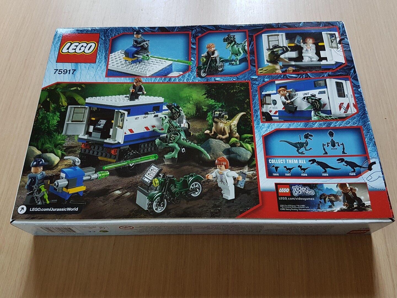 Lego 75917 Jurassic World Raptor Rampage. Rampage. Rampage. nuevo Fab Raro Conjunto e78e8a