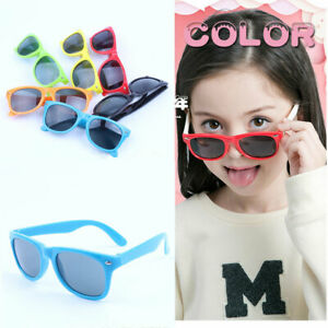 KIDS Sunglasses Boys Girls Shades Childrens Classic Vintage Holiday FULL UV400