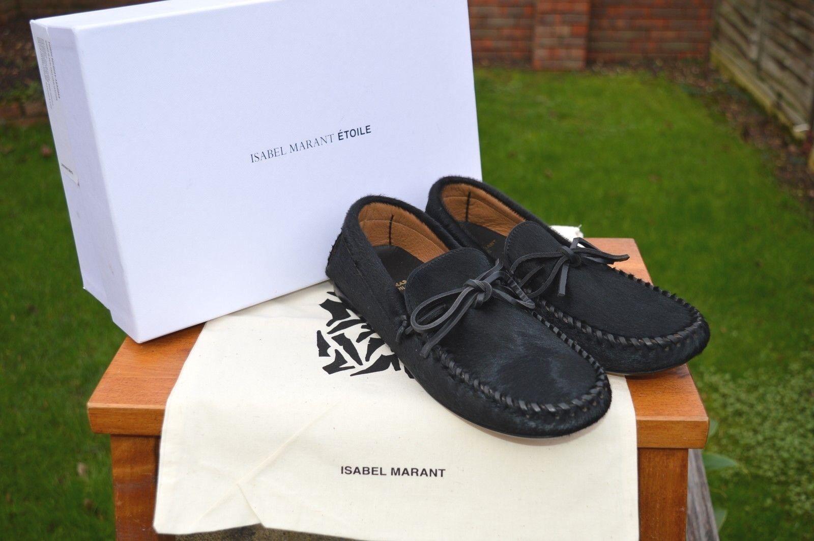 BRAND NEW Isabel Marant Étoile Pony  Fodih  shoes Moccasins UK4 EU37 US7 etoile