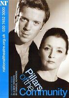 DAMIAN LEWIS LESLEY MANVILLE Theatre Flyer Handbill