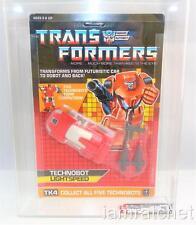 Transformers Original G1 AFA 80 Technobot Lightspeed MOSC 80/90/90