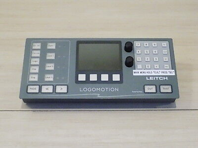 Leitch Harris Rcp-16x1IDE RCP ID Programmable LCD Button Remote Control Panel