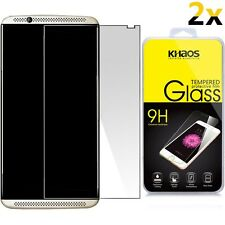 [2-Pack] For ZTE Axon 7 Tempered Glass Screen Protector 9H Glass 0.26mm