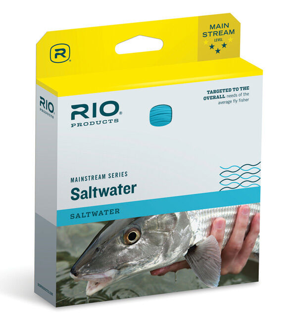 RIO MAINSTREAM SALTWATER WF-10-F WT. WEIGHT FORWARD FLOATING FLY LINE