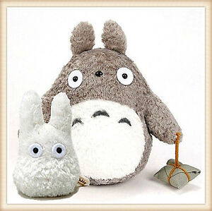 "Japanese Studio Ghibli My Neighbor Totoro 9"" gray plush 4 ..."