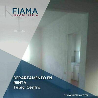 DEPARTAMENTO EN RENTA EN COL. CENTRO, TEPIC (MH)