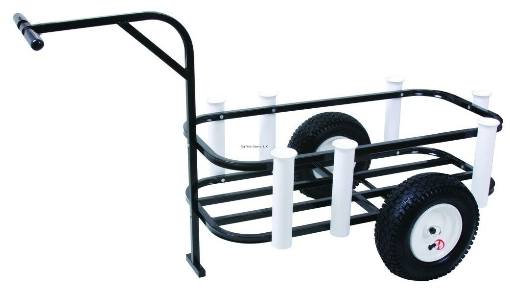 NEW  Sea Striker BRSC-DLX Beach Runner Deluxe Fishing Cart with Pneumatic Wheels