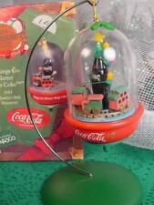 ENESCO Coca Cola Bottle in DOME CHRISTMAS ORNAMENT THINGS GO BETTER WITH COKE w