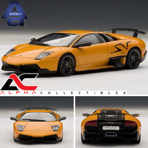 Autoart 54627 1 43 Lamborghini Murcielago Lp670 4 Sv Orange For Sale