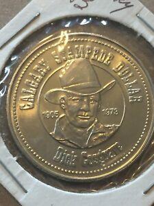 Token-Calgary-Stampede-Chuckwagon-Race-Souvenir-Dollar-1983-Coin-Collectable-P17