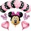 DISNEY-MICKEY-MINNIE-MOUSE-COMPLEANNO-PALLONCINI-BABY-SHOWER-SESSO-rivelare-Rosa-Blu miniatura 18