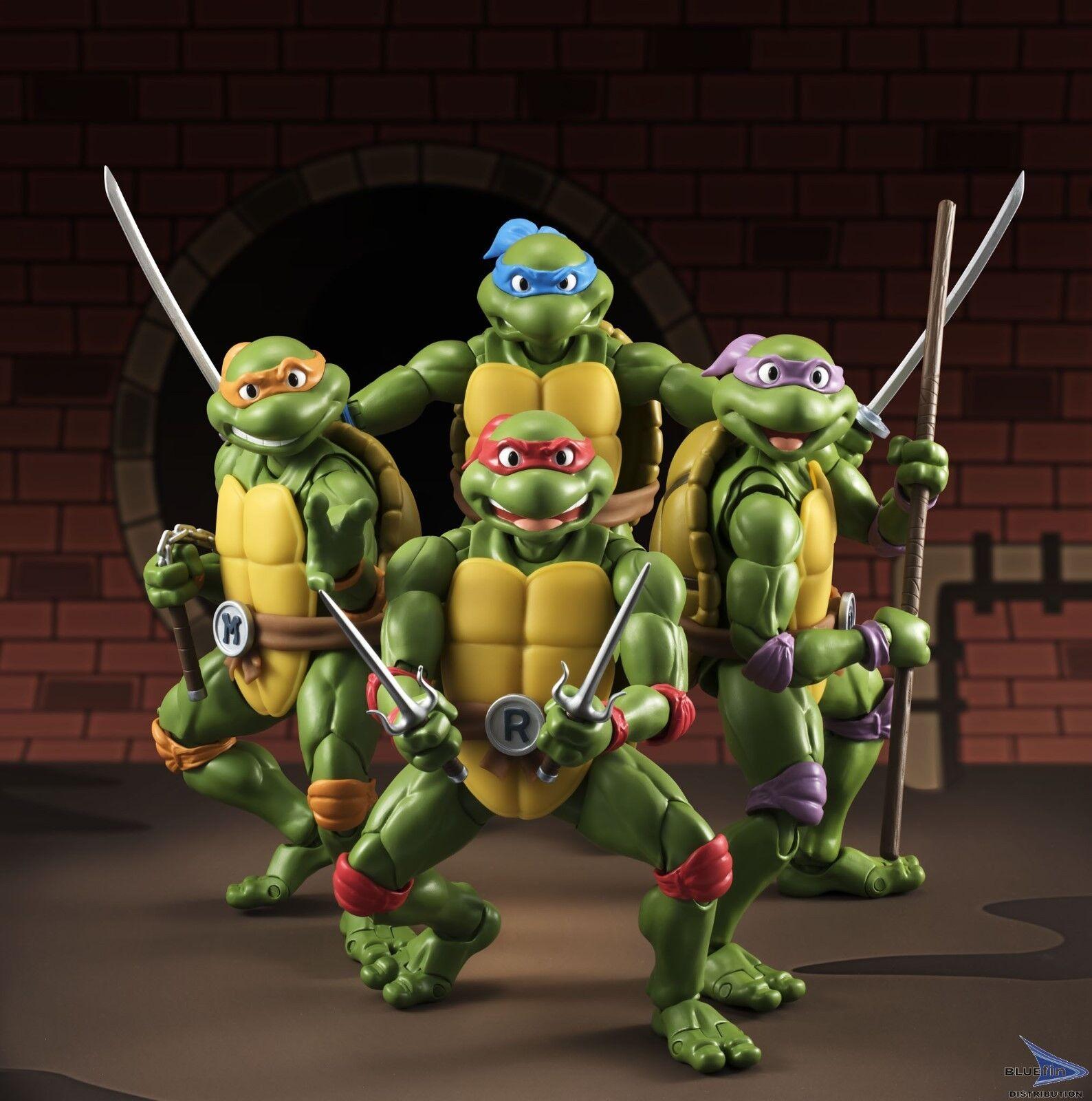 muy popular Teenage Mutant Ninja Turles S.H. FIGUARTS FIGURA DE ACCIÓN SET SET SET  Las ventas en línea ahorran un 70%.